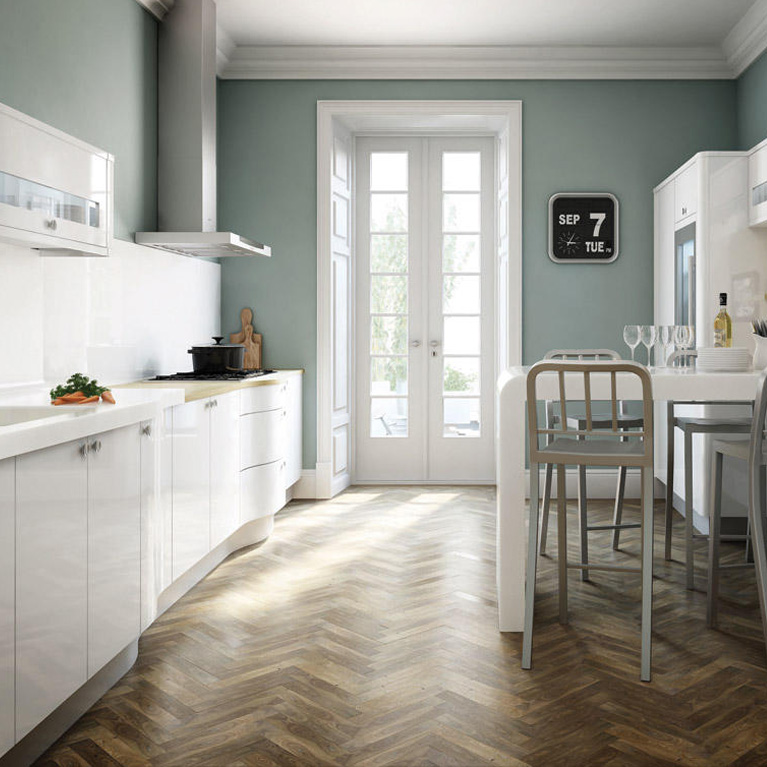 Avant White Fitted Kitchen