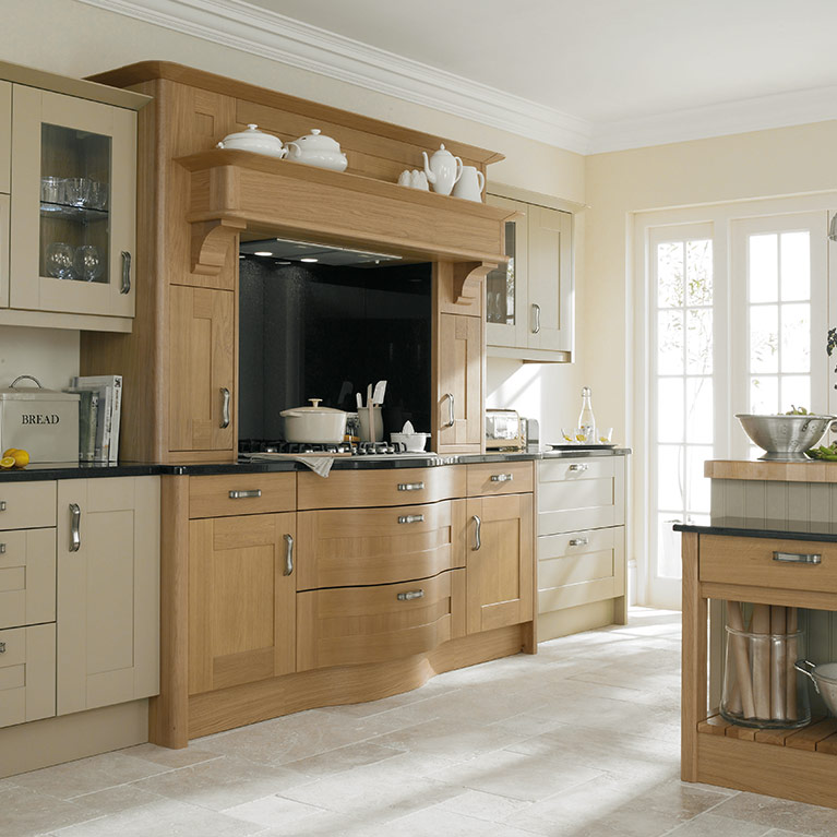 Broadoak Linen Fitted Kitchen