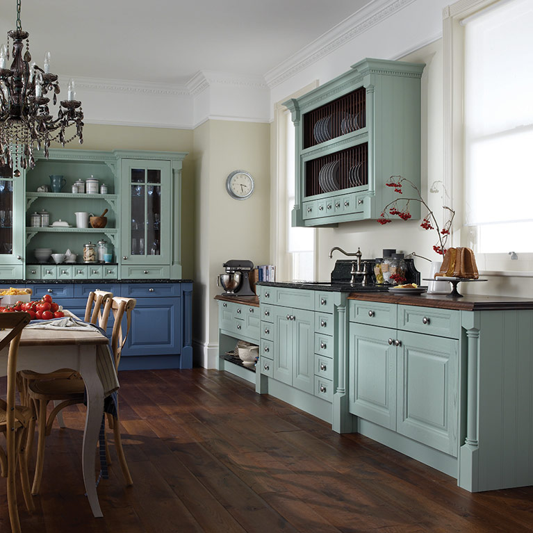Cornell China Blue Fitted Kitchen
