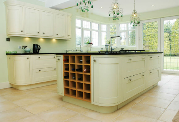 Cream Fitted Kitchen Manchester Number One Kitchens