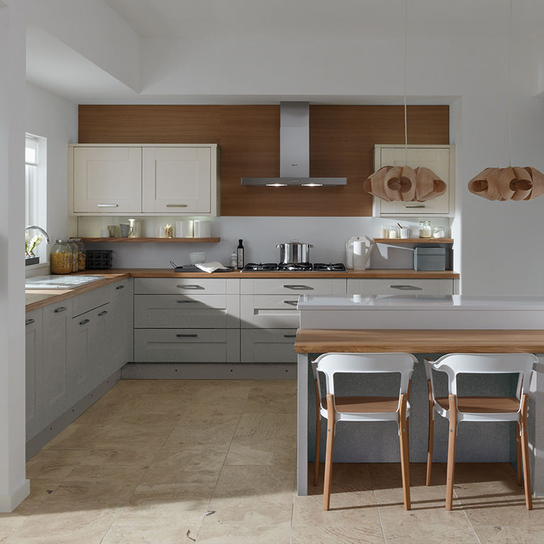 Milbourne Partridge Grey Fitted Kitchen