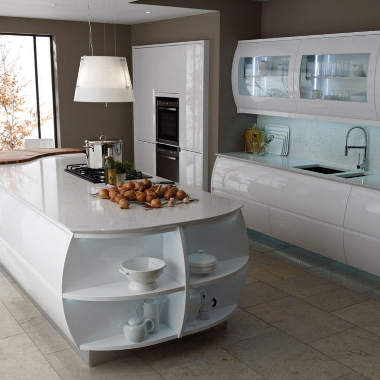 Remo White Fitted Kitchen