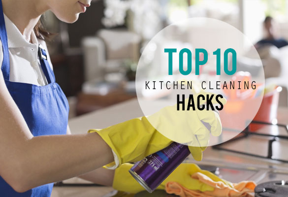 Top 10 Kitchen Cleaning Hacks
