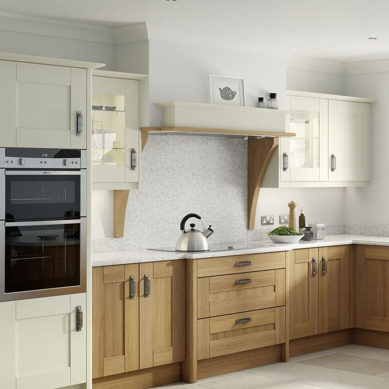 Broadoak Alablaster Oak Kitchen