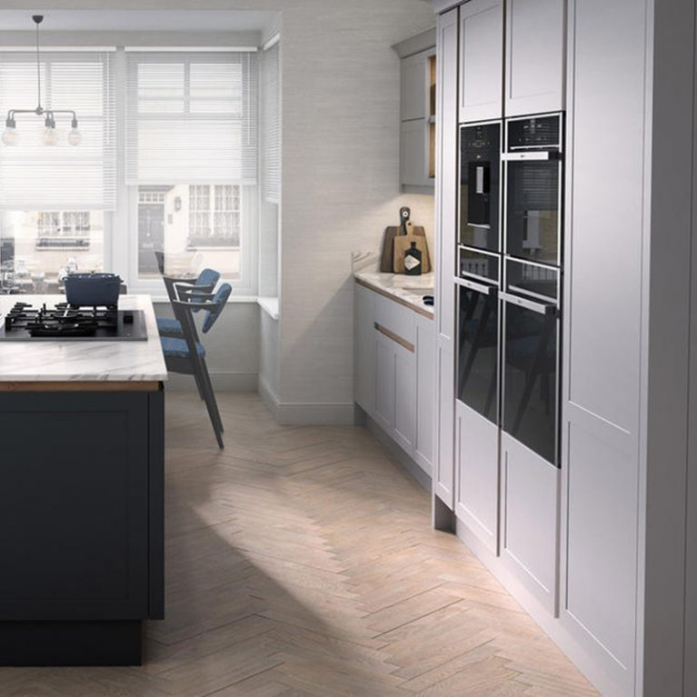 Ellerton Partridge Grey Kitchen