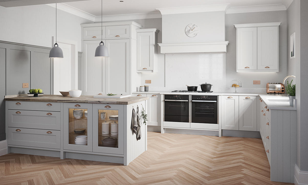 Enquire About This Kitchen Mornington Beaded Fitted