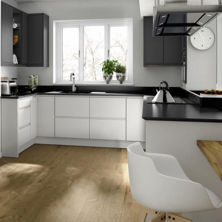 Remo Porcelain Fitted Kitchen