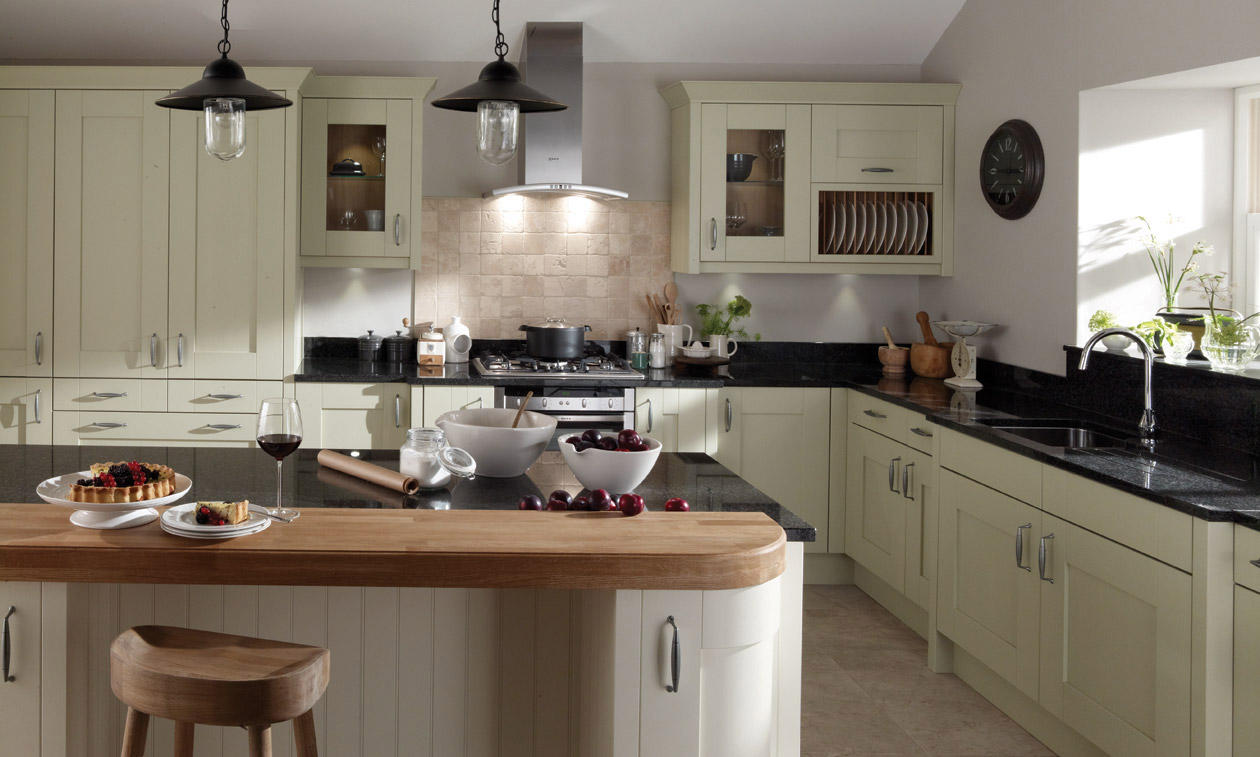 milbourne sage fitted kitchen number one kitchens