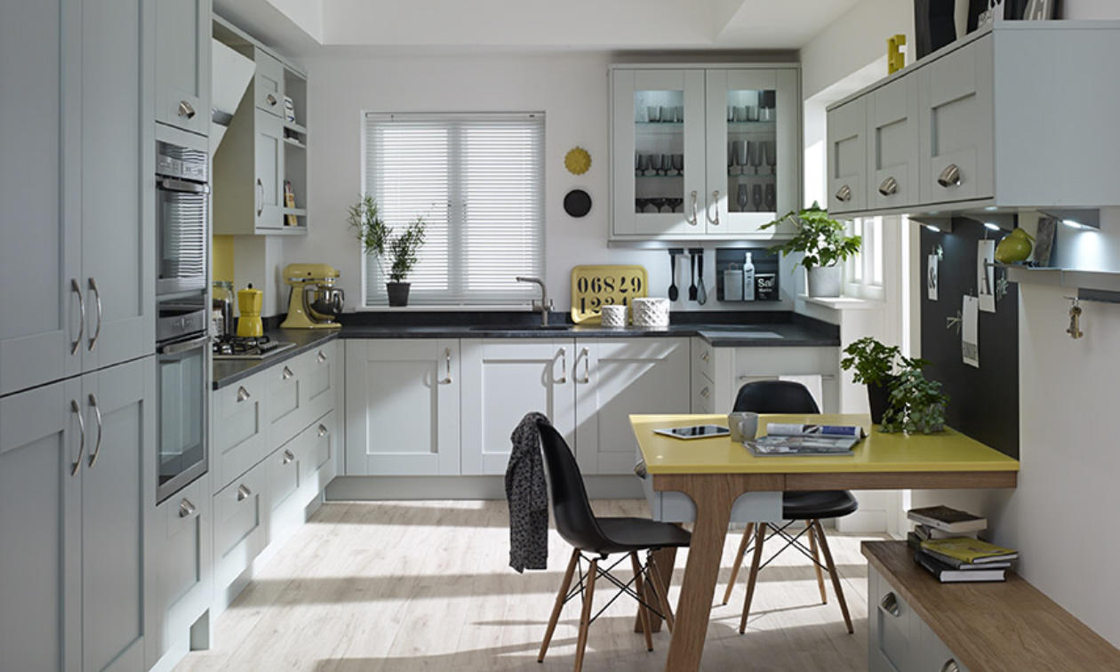 Milbourne Partridge Grey Fitted Kitchen Number One Kitchens - Grey fitted kitchens