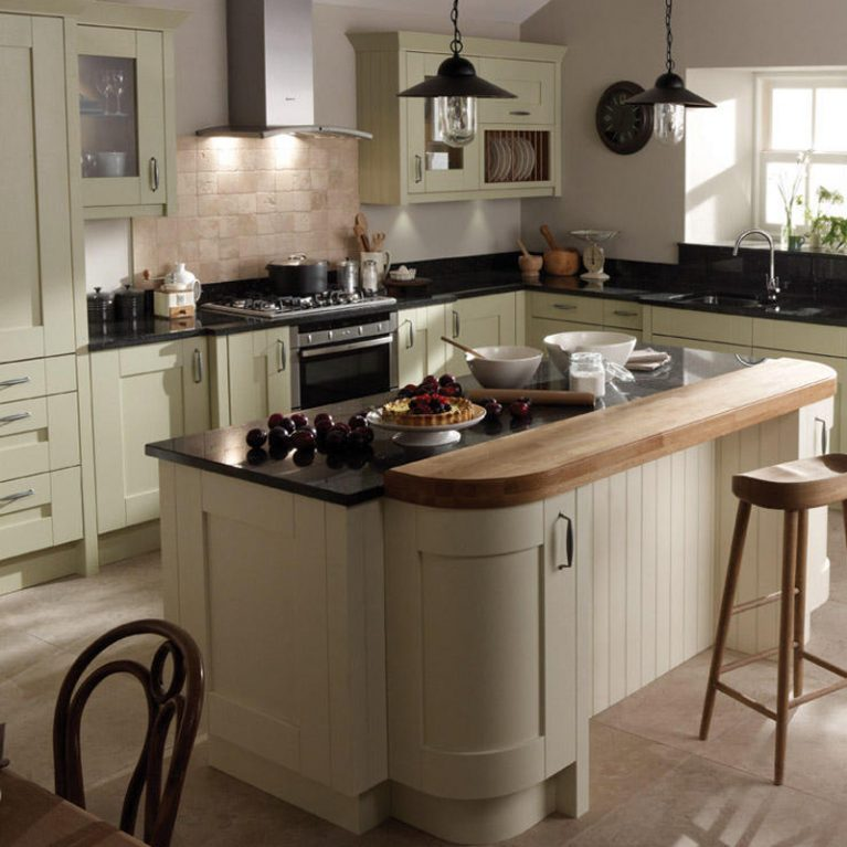 Milbourne Alabaster Fitted Kitchen