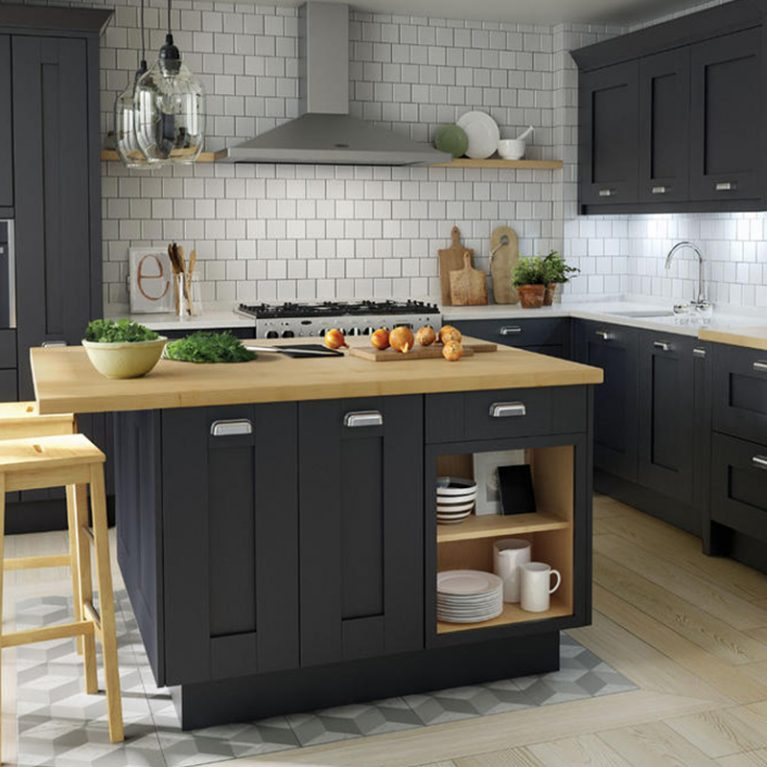 Milbourne Charcoal Fitted Kitchen
