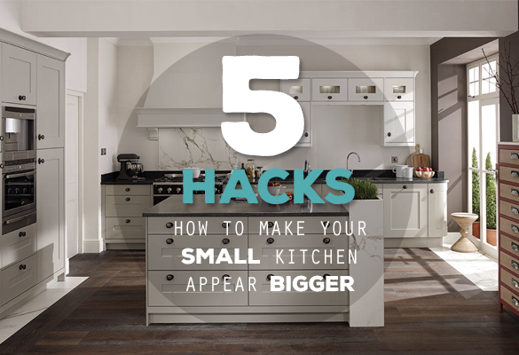 how to make your kitchen appear bigger